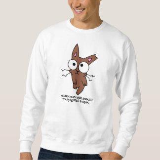 Chocolate Bunny Shrink Sweatshirt