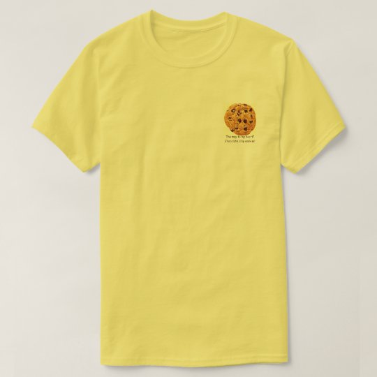 Chocolate Chip Cookie Men's T-Shirt