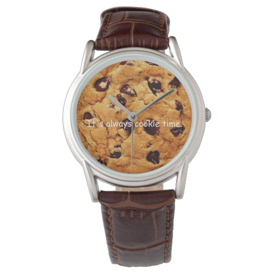 Chocolate Chip Cookie Men's Watch