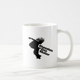 Chocolate City Skater Basic White Mug