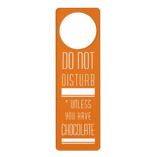 Chocolate Door Knob Hanger