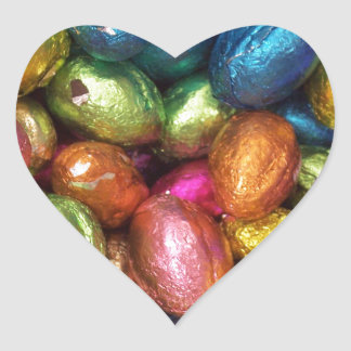 Chocolate Easter Egg Stickers