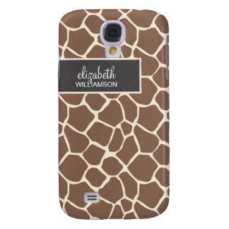 Chocolate Giraffe Pern Galaxy S4 Case