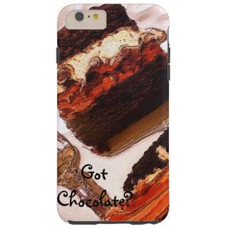 Chocolate iPhone 6 case Decadent Chocolate Dessert