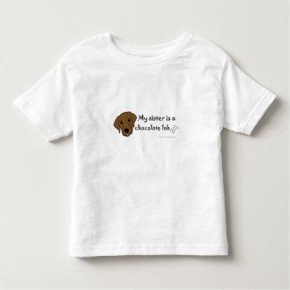 chocolate lab toddler T-Shirt