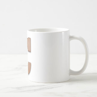 Chocolate letter C Coffee Mug
