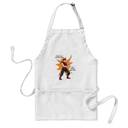Chocolate-lovers apron