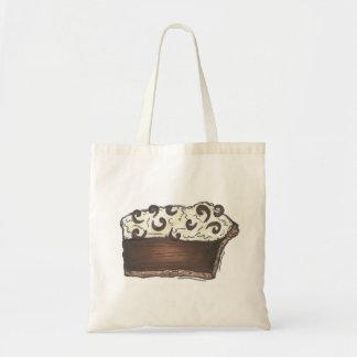 Chocolate Mousse Cream Pie Chocoholic Dessert Tote