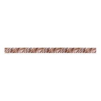 Chocolate Pink Camouflage Ribbon Satin Ribbon
