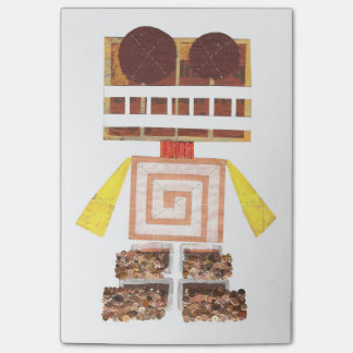 Chocolate Robot Post-It Notes