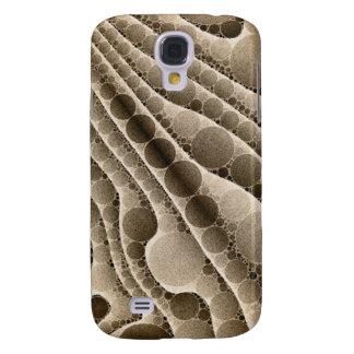 Chocolate Swirly Abstract Pattern Galaxy S4 Case