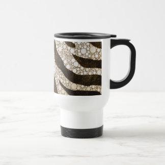 Chocolate Zebra Coffee Mug