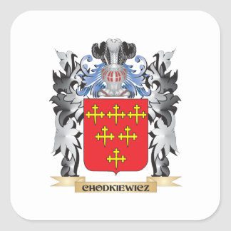 Chodkiewicz Coat of Arms - Family Crest Square Sticker