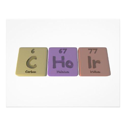 Choir-C-Ho-Ir-Carbon-Holmium-Iridium.png Flyer