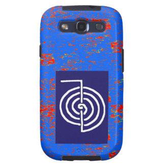 CHOKUREI Reiki Basic Healing Symbol TEMPLATE gift Samsung Galaxy S3 Cover