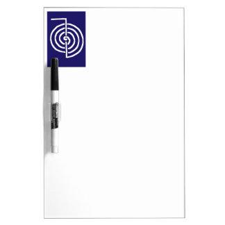 CHOKUREI  Reiki Basic Healing Symbol TEMPLATE gift Dry Erase Whiteboard