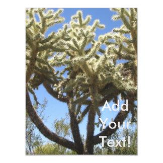 Cholla Cactus Magnetic Invitations