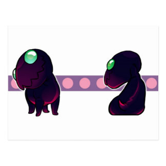 Chompy post cards