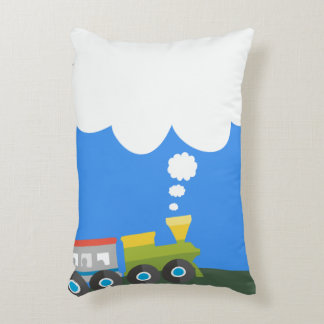 Choo Choo Train Decorative Cushion