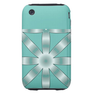 Choose Any Color Repeated Star Pattern iPhone 3 Tough Case