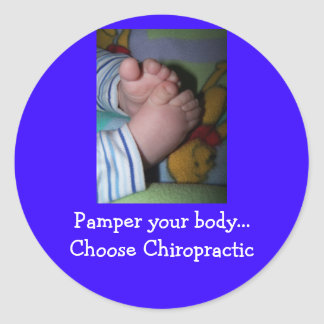 ..Choose Chiropractic Classic Round Sticker