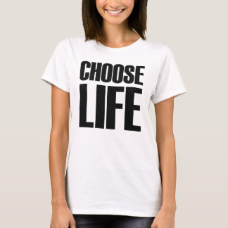 Choose Life Eighties T-shirt