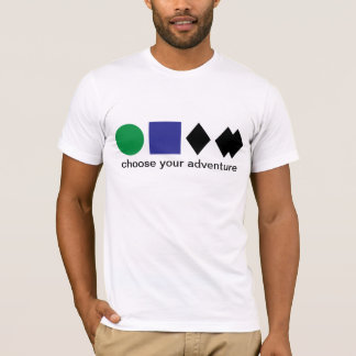 Choose your adventure t-shirt