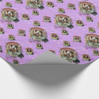 Chopanda Chopin Panda Animal Music Composers Wrapping Paper