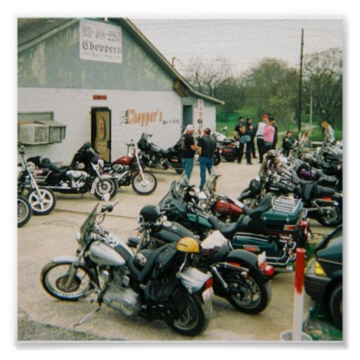 Choppers Bar & Grill Poster