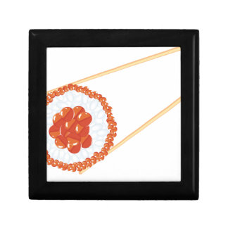 Chopsticks Holding Sushi3 Gift Box