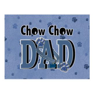 Chow Chow DAD Postcard