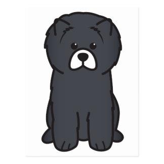 Chow Chow Dog Cartoon Postcard