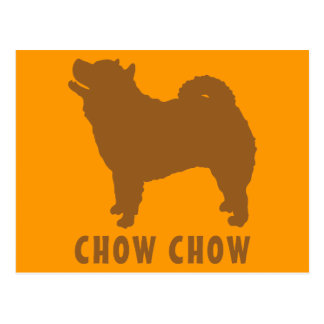 Chow Chow Postcard