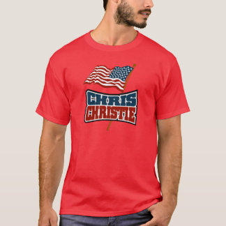 Chris Christie Proud American T-Shirt