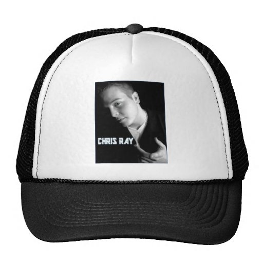 chris ray products mesh hat
