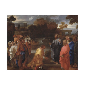 Christ and the Centurion Canvas Print