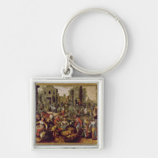Christ displayed to the people key ring
