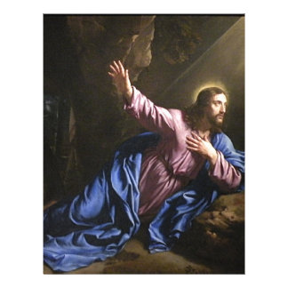 Christ garden faith hope love pray prayer angel 21.5 cm x 28 cm flyer