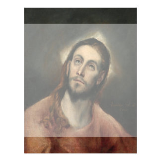 Christ in Prayer by El Greco 21.5 Cm X 28 Cm Flyer