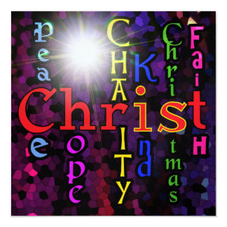 Christ is Christmas Invitation
