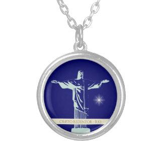 Christ Rio de Janeiro Silver Plated Necklace