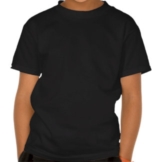 Christ with indians - black white print shirt