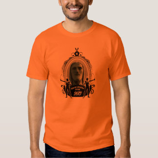 Christ with indians prints front and reverse tee shirt