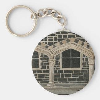 Christchurch Arts Centre - Archways Basic Round Button Key Ring