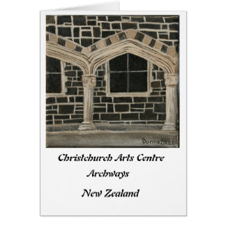 Christchurch Arts Centre - Archways Card