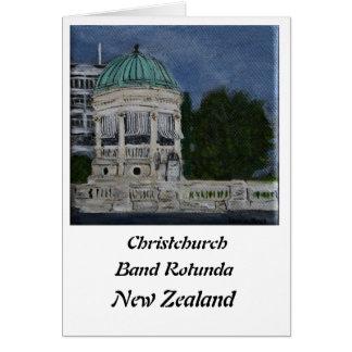 Christchurch Band Rotunda Card