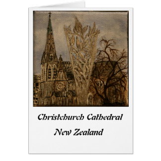 Christchurch Cathedral Card