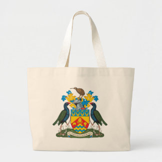 Christchurch Coat of Arms Canvas Bags