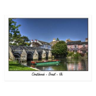 Christchurch - Dorset - Uk Postcard