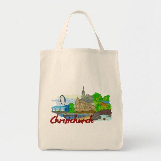 Christchurch - New Zealand.png Tote Bag
